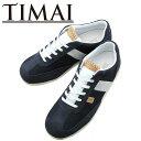 ティマイ ゲンオウ2 ネイビー/ホワイト TIMAI メンズスニーカー ローカット