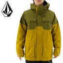 VOLCOM メンズ スノボジャケット G0151604 スノーボードウェアー コーチジャケット ソフトシェル