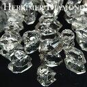 ハーキマーダイヤモンド ハーキマー水晶 原石 単結晶  約45ct前後  ...