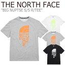 ショッピングブラウン ノースフェイス Tシャツ THE NORTH FACE メンズ レディース BIG NUPTSE S/S R/TEE ビック ヌプシ ショートスリーブ ラウンドTEE 全3色 NT7UL13J/K/L ウェア 【中古】未使用品