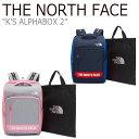 ショッピングnorth ノースフェイス バックパック THE NORTH FACE メンズ レディース K'S ALPHABOX 2 アルファボックス PINK ピンク NAVY ネイビー NM2DK51R/S バッグ 【中古】未使用品