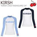 ショッピングラッシュガード メンズ キルシー 水着 KIRSH レディース KIRSH LOGO RASHGUARD JH キルシーロゴ ラッシュガード NAVY ネイビー LIGHT BLUE ライト ブルー VJHKT02 ウェア