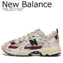 ニューバランス スニーカー New Balance メンズ レディース ML 827 XD BEIGE ベージュ ML827XD シューズ 【中古】未使用品