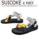 ショッピングマンゴー スイコック サンダル SUICOKE x HAY メンズ レディース Limited Edition Sandals DEPA 2.0 デパ 2.0 MANGO SPLASH マンゴースプラッシュ 008921 シューズ