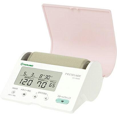 【ギフト包装無料!】女性に優しい色合いとフォルム♪ テルモ上腕式電子血圧計 ES-P600 PREMIAGE(プレミアージュ)」【楽ギフ_包装】fs3gm