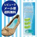靴中敷き やわらかクッション 爽やかなメントールの香り アロマインソール 「Flesh Insole(フレッシュインソール)」【メール便250円】