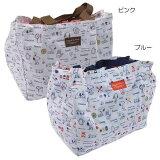 【メール便可】スヌーピー [エコバッグ/ レジカゴバッグ] お買い物保冷バッグ/横長タイプ 【ピンク 】