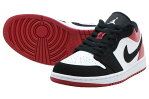 NIKE AIR JORDAN 1 LOWナイキ エアジョーダン 1 ローWHITE/BLACK-GYM RED