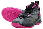 JORDAN WHY NOT ZERO.3 PFジョーダン ホワイ ノット ゼロ.3 PFPARTICLE GREY/PINK BLAST-BLACK