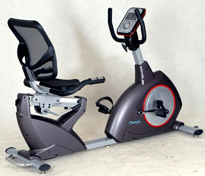 エアロバイク リカンベントバイク DK-8718RP【大広】【送料無料】【リカンベントバイク】【エアロバイク】【健康器具】05 大広から最新のリカンベントバイク。ジョグダイヤル式の電動負荷。