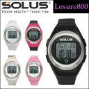心拍計 ソーラスレジャー800/SOLUS Leisure800 心拍計腕時計 【ソーラス】【送料無料】【心拍計 腕時計】 【心拍計 指】【心拍計 指タッチ式】【smtb-u】【02P01Oct16】