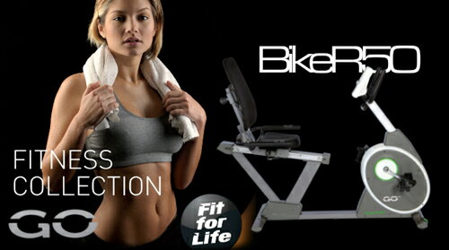 リカンベントバイク/GO Bike R50【送料無料】【TUNTURI(トゥントゥリ)】 リカンベントバイク 健康器具 ダイエット器具 ヨーロッパのブランドTUNTURIリカンベントバイク。