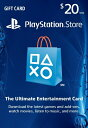 PlayStation NETWORK CARD $20(プレイステーションネットワークカード $20 北米版)〈Sony〉