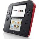 2DS NINTENDO 2DS 本体 Crimson Red(ニンテンドー 2DS - クリムゾン・レッド 北米版)〈Nintendo〉