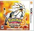 【新作】3DS POKEMON SUN(ポケモンサン 北米版)〈Nintendo〉 11/18発売