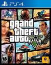 PS4 GRAND THEFT AUTO V USA(グランド・セフト・オートV 北米版)〈Rock Star Games〉【新品】
