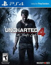 PS4 Uncharted 4 - A Thief's End USA(アンチャーテッド4 シーフエンド 北米版)〈Sony〉