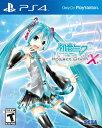 PS4 Hatsune Miku: Project DIVA X (ハツネミク プロジェクトディーバエックス 北米版)〈Sega〉