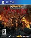 【新作】PS4 Warhammer:End Times-Vermintide(ウォーハンマー エンドタイムズベルミンタイド 北米版)〈Nordic Games〉10/11発売