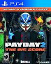 【新作】PS4 Payday 2:The Big Score(ペイデイ2 ビッグスコア 北米版)〈505Games〉10/11発売