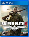 PS4 Sniper Elite 4(スナイパーエリート4 北米版)〈Sold Out〉2/14発売[新品]