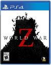 PS4 World War Z(ワールド・ウォーZ 北米版)〈Mad Dog Games〉4/16発売[新品]※在庫なくなり次第入荷まち