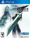 PS4 Final Fantasy VII: Remake 北米版 新品