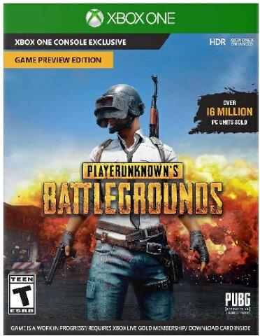 XboxONE PLAYERUNKNOWN'S BATTLEGROUNDS(プレイヤーアンノウンズバトルグランド 北米版)〈Microsoft〉12/12発売[新品]