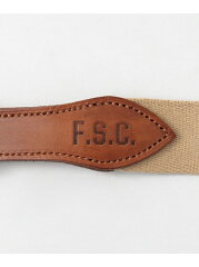 Freemans Sporting Club Tailor Cotton Belt UG63-1EZ002: Beige