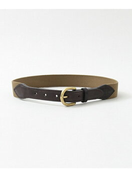 Freemans Sporting Club Tailor Cotton Belt UG63-1EZ002: Khaki