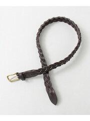 Freemans Sporting Club Tailor Braided Belt UG63-1EZ003: Brown