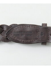 Freemans Sporting Club Tailor Braided Belt UG63-1EZ003: Brown