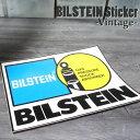 【ajito】 BILSTEIN Sticker ビルシュタイン モーターステッカーステッカー ステッカー レア コレクション デッドストック