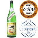 限定【受賞酒】鳴門鯛 純米吟醸1800(インターナショナルワインチャレンジ)2016純米吟醸の部にて
