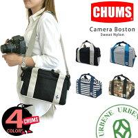 CHUMSチャムスカメラボストンバッグポップカラースウェット配色一眼レフカメラバッグデジカメケースチャムスショルダーch60-0805ユニセックスメンズレディースチャムス楽天リュックあす楽