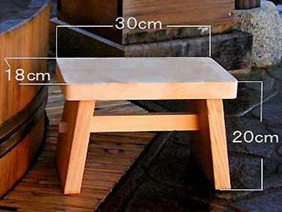木曽ひのき風呂用椅子 単品 【木曽の漆器よし彦】