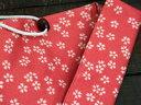 日本の食・日本の箸・マイ箸マイ箸袋桜 赤