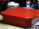 ギフトに人気の重箱重箱一段 【木曽の漆器よし彦】【楽ギフのし】【楽ギフのし宛書】fs3gm