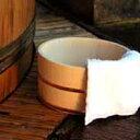 木曽ひのき風呂丸桶 単品 【木曽の漆器よし彦】
