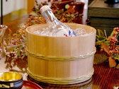 木曽さわら冷酒桶 竹タガ 【木曽の漆器よし彦】