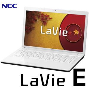 LaVie E LE150/N1W-P2 Windows 8.1 メモリ4GB Office 2013搭載 15.6型ワイド ノートパソコン【smtb...