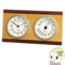 TM-614 エンペックス ウッドクレスト温・湿度・時計