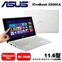 X200CA-CTWHITE ASUS ノートパソコン VivoBook X200CA ホワイト【smtb-k】【ky】