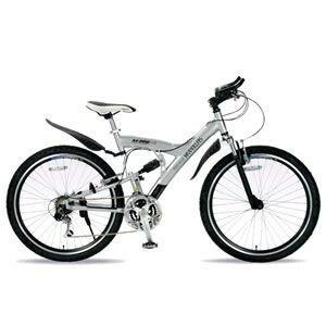 「メーカー直送」M-960-2-S マイパラス 26インチ自転車 M-960type2 MTB26・18SP・Wサス シルバー【smtb-k】【ky】 送料無料!(北海道・沖縄・離島除く)