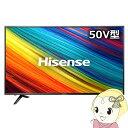 【あす楽】【在庫僅少】HJ50N3000 ハイセンス 50V型 4K対応 液晶TV (外付けHDD録画対応)【smtb-k】【ky】