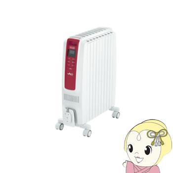 QSD0915-RD デロンギ ドラゴンデジタルスマート オイルヒーター【smtb-k】【ky】【KK9N0D18P】