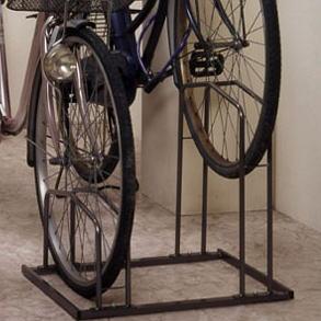 用[自転車を省スペースに固定 ...