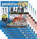 期間限定!送料無料! がまかつ 海上釣堀(ネリエサ)11号 茶 5枚まとめ買い特価 66661(gamakatsu・がまかつ)
