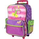 ステファンジョセフ パープル キャリー トローリー キャリーバッグ スーツケース ラゲージ トランク