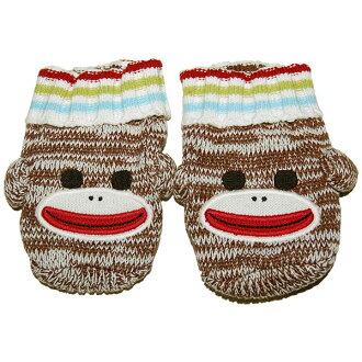 瘋狂 8 Crazy8 ★ 性別中性襪子猴類型襪子禮物完美 ☆ 贓物 ☆ 嬰兒禮物寶貝聖誕美國平行進口